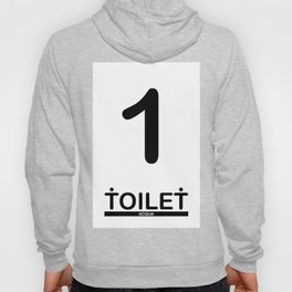 TOILET CLUB #1 Hoody