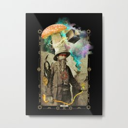 Odd Explorer Metal Print