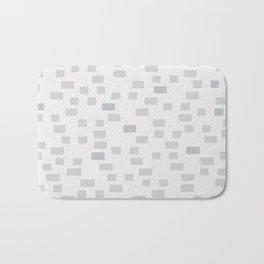 blocks of grey Bath Mat