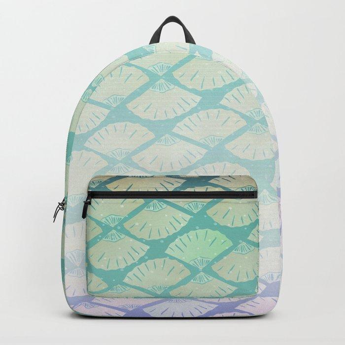 Wind Pattern Backpack