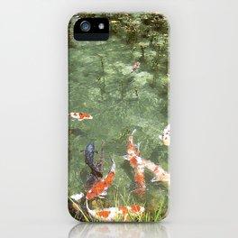 japanese carp iPhone Case