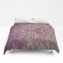 Lilac Pastel Shimmer Comforters