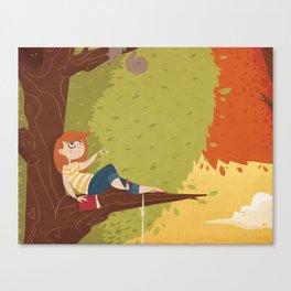 Up a Tree Canvas Print