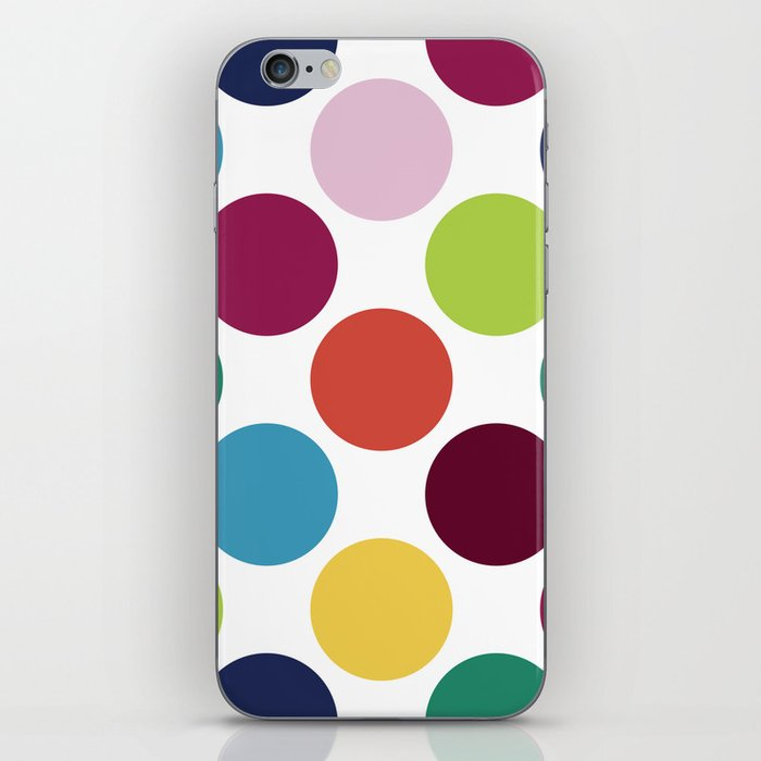Colorful Dots iPhone Skin