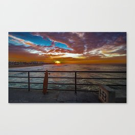 Just Stoked Canvas Print
