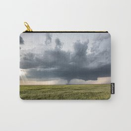 High Risk - Wide Angle View of Tornado in Kansas Carry-All Pouch