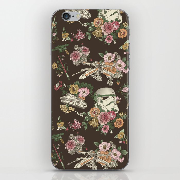 Botanic Wars iPhone Skin