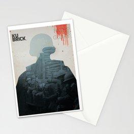 Paths of Glory, Stanley Kubrick, movie poster, Kirk Douglas, Orizzonti di Gloria, WWI war movie Stationery Cards