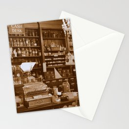 Vintage Apothecary Stationery Cards