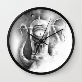 The Kodos of Rigel VII Wall Clock