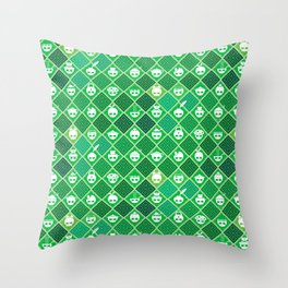 The Nik-Nak Bros. Veggie Greene Throw Pillow