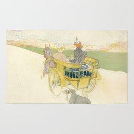 """Henri de Toulouse-Lautrec """"Partie de Campagne"""" Rug"""