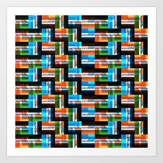 Potpourri Pattern 2 Art Print