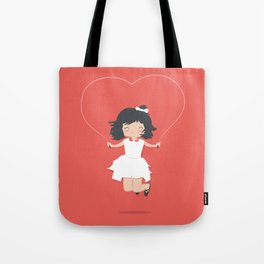 Jump for Joy Tote Bag