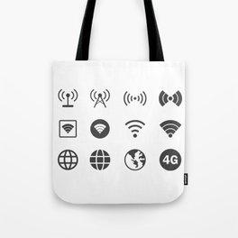 Internet Worldwide Tote Bag