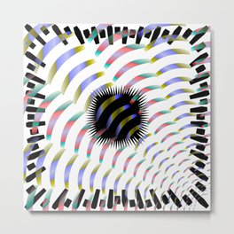 Ambiguous Abstraction, 2370f Metal Print