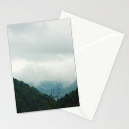 Misty Mountain Forests Stationery Cards