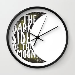 Floyd Pink - the dark side of the moon Wall Clock