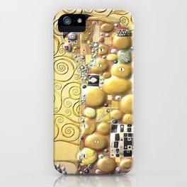 My Klimt- Embrace iPhone Case