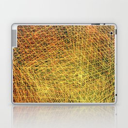 Gold square Laptop & iPad Skin