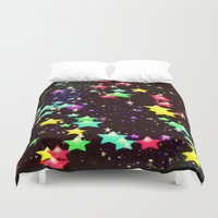 celestial Duvet Covers featuring celestial by Mariedesignz