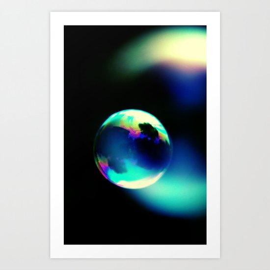 DREAMS IN A SOAP BUBBLE Art Print