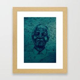 Madiba Framed Art Print
