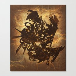 Arty Abstract Canvas Print