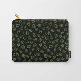 Hopcone Pattern Carry-All Pouch