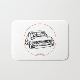 Crazy Car Art 0005 Bath Mat