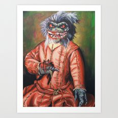 Portrait of a Little Critter Art Print