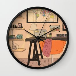 study room day Wall Clock