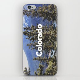 Colorado, Pikes Peak iPhone Skin