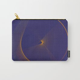 Elegant minimal modern art Carry-All Pouch