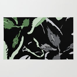 FLORAL ABSTRACTION Rug