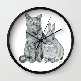 nobunny compares to you; our friendship's something i could never rue! Wall Clock