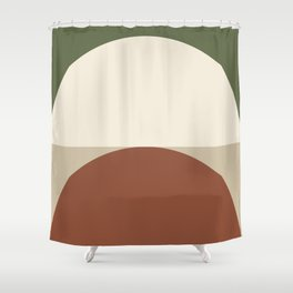 Abstract Geometric 01C Shower Curtain