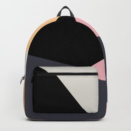 Colorful geometric design Backpack