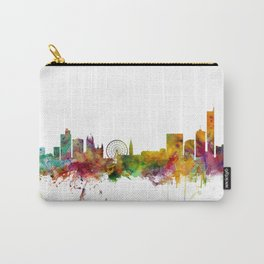 Manchester England Skyline Carry-All Pouch