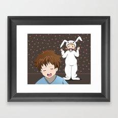 My precious sister Framed Art Print