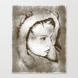 Lil' Bearboy Canvas Print