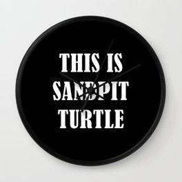 This is Sandpit Turtle (Sempiternal)- Emo, Alt, Scene, Emo Kid, Screamo, Metal, Deathcore, Metalcore Wall Clock