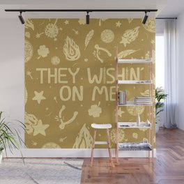 GOD'S PL\N Wall Mural