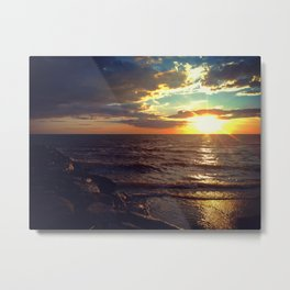 Italian Sunset Metal Print