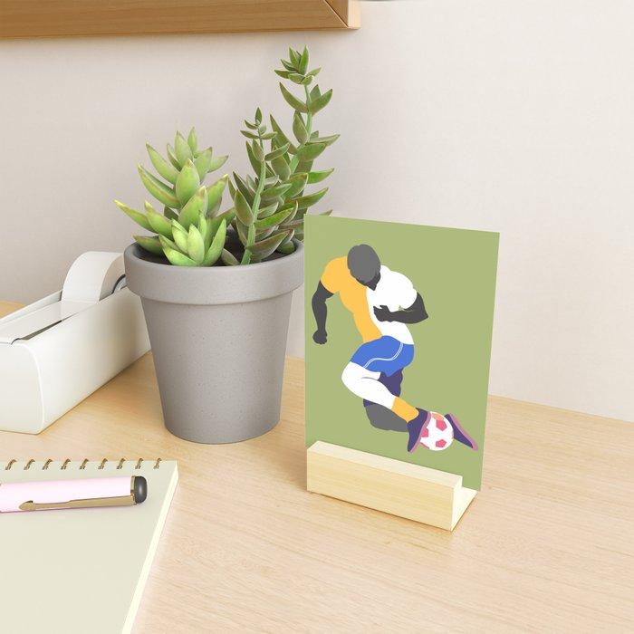 Soccer No.1 Mini Art Print