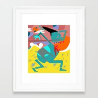 desert Framed Art Prints featuring Desert by SMLE™