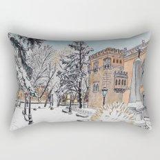 Spanish Palace Rectangular Pillow