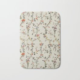 Floral Piece late 18th century Chinese for French market Bath Mat