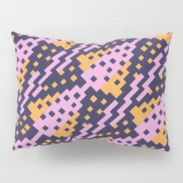 Chocktaw Geometric Square Cutout Pattern - Amazon Flower Pillow Sham