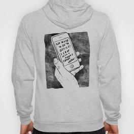 smartphone Hoody